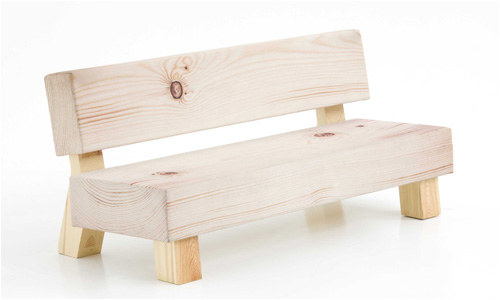 Moroso soft wood sofa