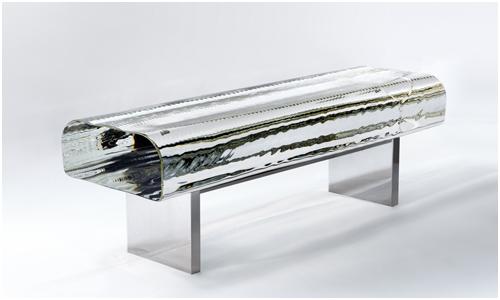 Water Block Bench by Tokujin Yoshioka