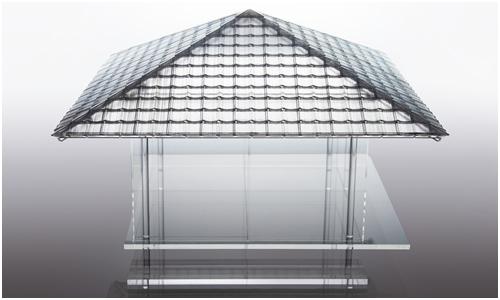 KOU-AN Glass Teahouse by Tokujin Yoshioka
