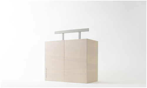 Kotoli Picnic Box Designed by Nendo for Ruinart