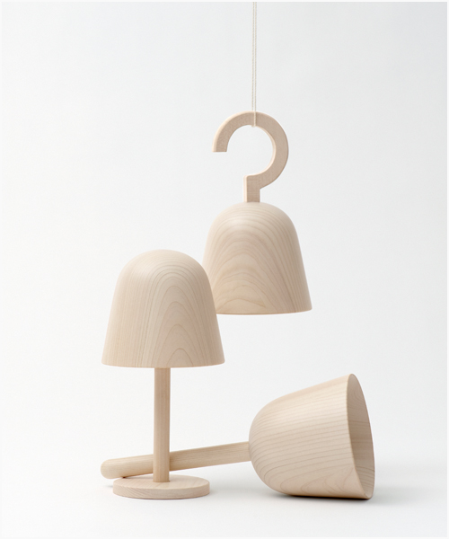 Bell Orgel Music Box by Nendo