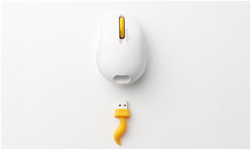 Oppopet computer mouse by Nendo
