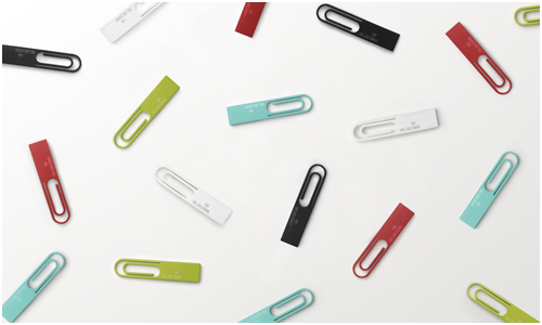 Data Clip USB Drive by Nendo