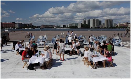 Lapin Kulta Solar Kitchen Restaurant Helsinki Finland