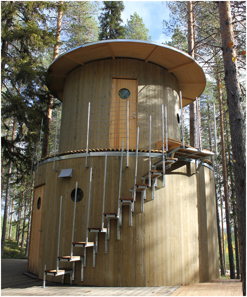 Treehouse, Sweden - Treesauna