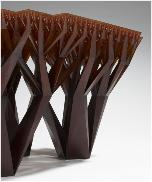 London Design Festival at the V&A - Materialise Fractal MGX Table