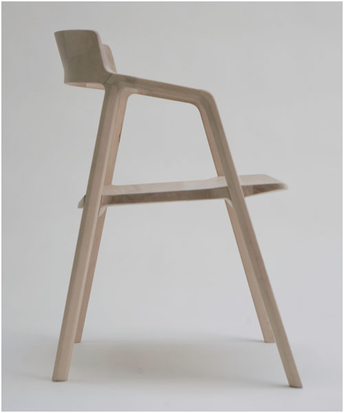 Axel Chair by Alexander Gufler for AODH