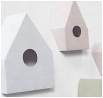 Nonslip Alcantara Birdhouse by Nendo - Featured Image