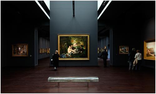 Tokujin's Water Block at the Musée d'Orsay, Paris