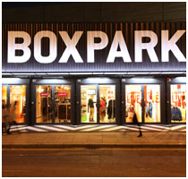 Boxpark Pop-up Mall, London - Featured Image