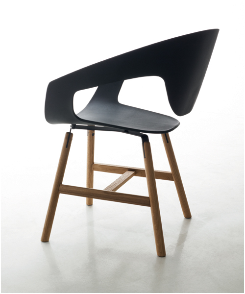 Vad Wood Chair by Luca Nichetto for Casamania