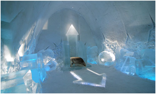 Icehotel Art Suite