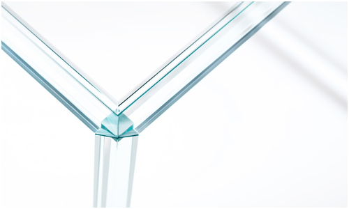 Luminous Glass Table by Tokujin Yoshioka