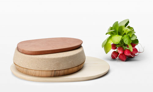 Home Decor by Postfossil - For Seasons Cutting Board and Trivet