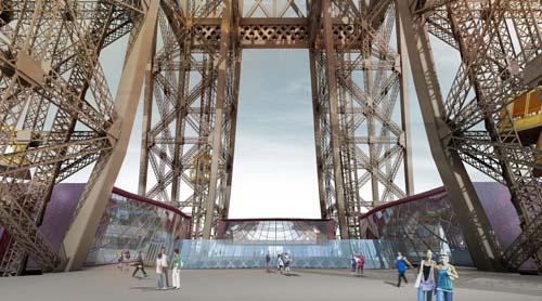 Eiffel Tower Facelift