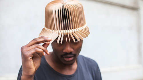 Tête De Bois Wooden Headwear