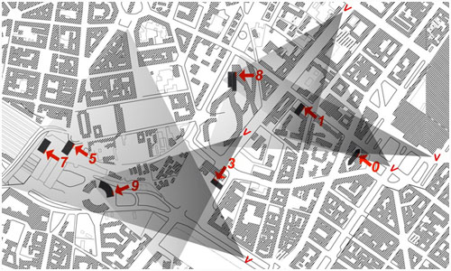 Growing by Numbers Milan - Map