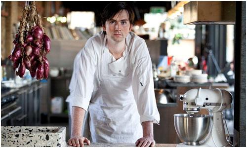 Stevie Parle of Dock Kitchen for Tom Dixon's Parlement Restaurant