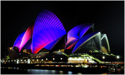 Vivid Sydney Festival, Sydney Opera House