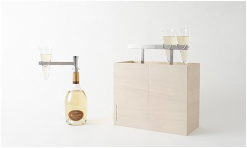Kotoli Picnic Box Designed by Nendo for Ruinart