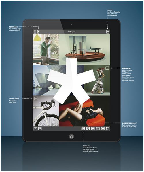 Wallpaper magazine now on the ipad