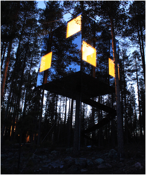 Treehouse, Sweden - MIrrorcube