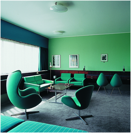 Arne Jacobsen Suite 606 Royal Hotel Copenhagen