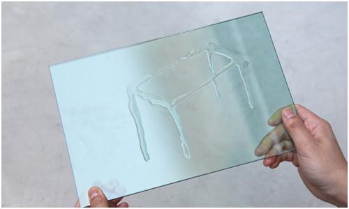 Luminous Glass Table by Tokujin Yoshioka