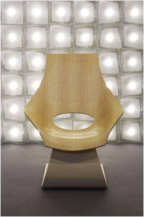 Tadao Ando Chair for Carl Hansen & Son