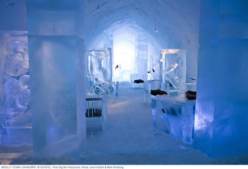 ICEHOTEL Main Hall