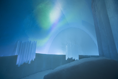 ICEHOTEL Northern Lights